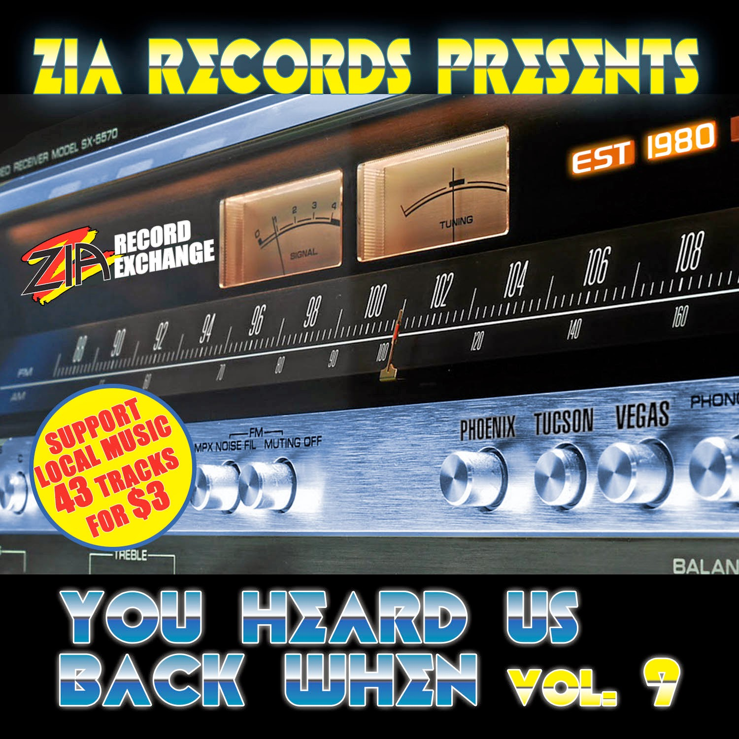 "Zia Records selects two tracks for ""You Heard Us Back When, Volume 9"""