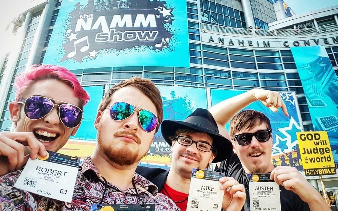 80/20 invades The NAMM Show 2016