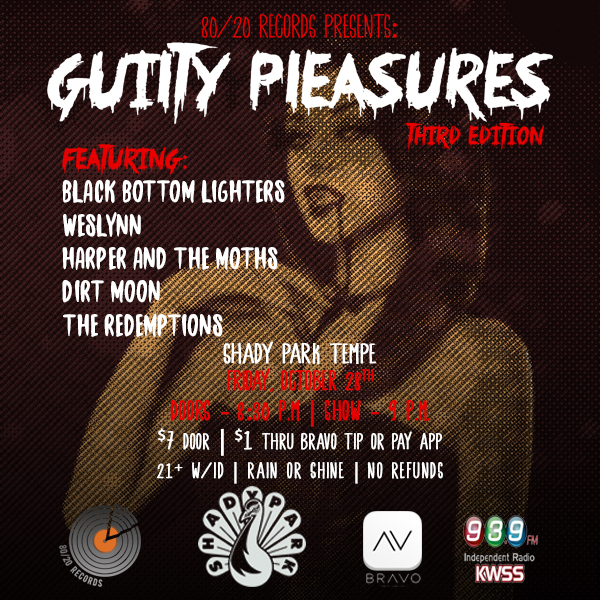 Guilty Pleasures Show Third Edition
